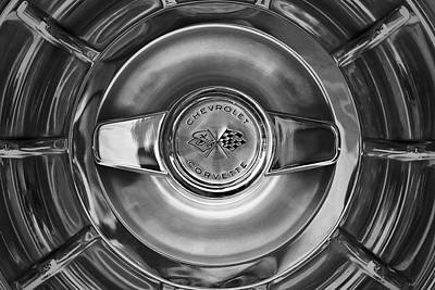 Photograph - Classic Corvette Wheel by  Onyonet  Photo Studios