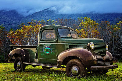 Photograph - Classic Dodge In The Smokies by Debra and Dave Vanderlaan
