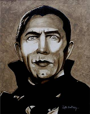 Painting - Classic Dracula by Al  Molina