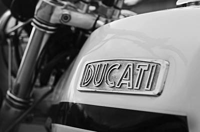 Monster Photograph - Classic Ducati by Mark Rogan
