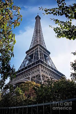 Photograph - Classic Eiffel  by Scott Kemper