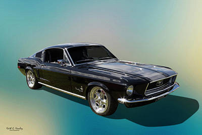 Photograph - Classic Fastback by Keith Hawley