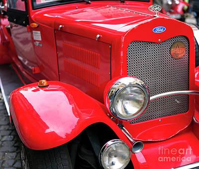 Photograph - Classic Ford Prague by John Rizzuto