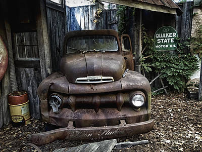 Photograph - Classic Ford Pickup by Melissa Messick