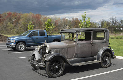 Photograph - Classic Ford Ready For Restoration by Paul Ross