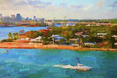 Photograph - Classic Ft Lauderdale by Alice Gipson