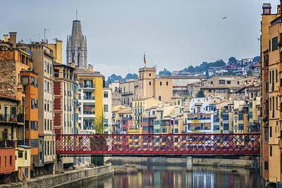 Girona Photograph - Classic Girona View by Joan Carroll