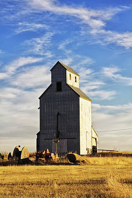 Photograph - Classic Grain Elevator by Tatiana Travelways
