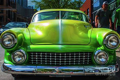 Photograph - Classic Green Car by Sean Wray
