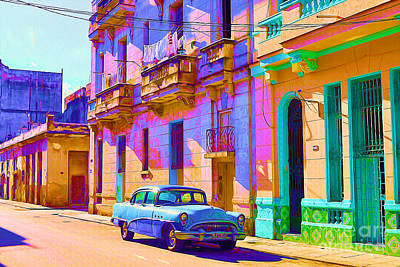 Old Street Mixed Media - Classic Havana by Chris Andruskiewicz