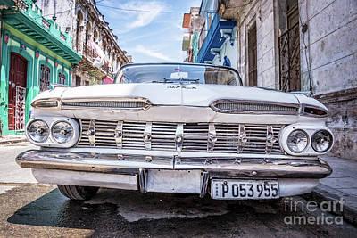 Classic Havana Art Print by Delphimages Photo Creations