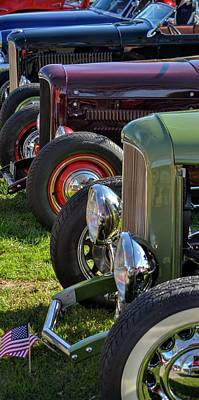 Photograph - Classic Hotrods by Dean Ferreira