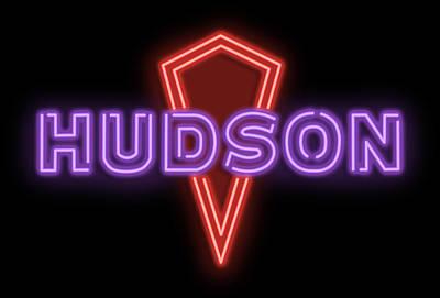 Digital Art - Classic Hudson Neon Sign by Ricky Barnard