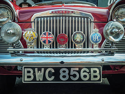 Photograph - Classic Humber by Nick Bywater