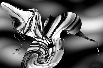 Faith Hope And Love Digital Art - Classic Hummingbird by Abstract Angel Artist Stephen K