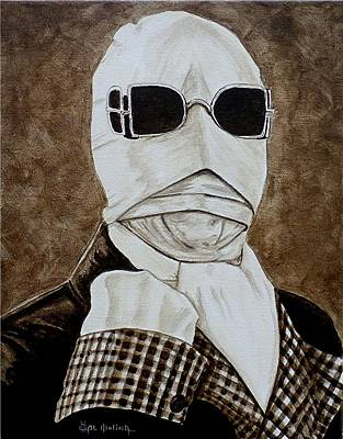 Painting - Classic Invisible Man by Al  Molina
