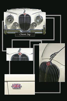 Classic Jag Art Print