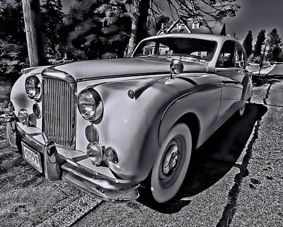 Photograph - Classic Jaguar by Bill Jonscher