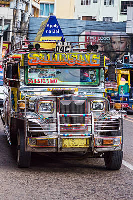 Photograph - Classic Jeepney by James BO Insogna