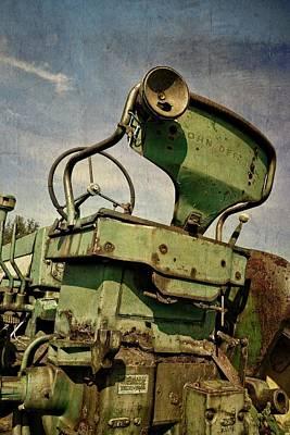 Technical Photograph - Classic John Deere 3.0 by Michelle Calkins