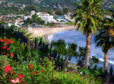 Laguna Beach Mixed Media - Classic Laguna by John Loyd Rushing