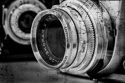 Photograph - Classic Lenses by David Hare