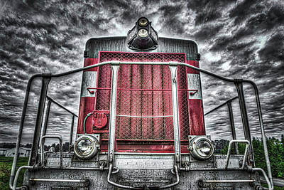 Photograph - Classic Locomotive by Spencer McDonald