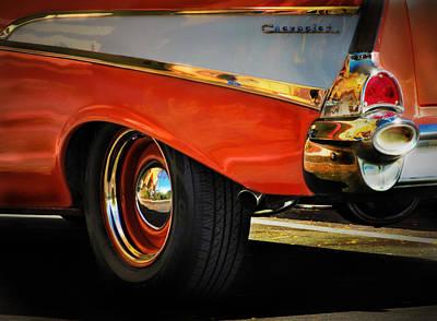 Wagon Wheel Hub Wall Art - Photograph - Classic by Marnie Patchett