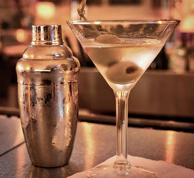 Martini Royalty-Free and Rights-Managed Images - Classic Martini by David Kay