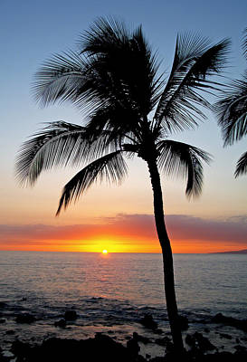Photograph - Classic Maui Sunset by Doug Davidson