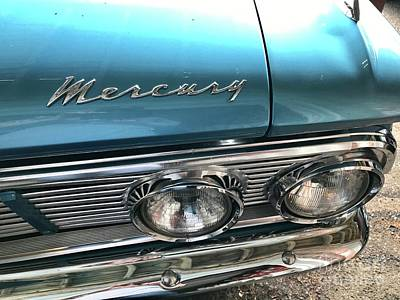 Photograph - Classic Mercury Automobile - 1963 Comet by Susan Carella