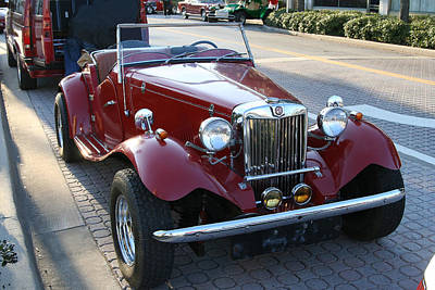 Photograph - Classic Mg Convertible by Carl Purcell