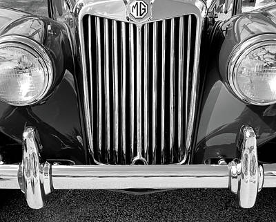 Photograph - Classic Mg by David Cabana