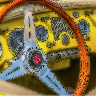 Digital Art - Classic Mg by Irwin Seidman