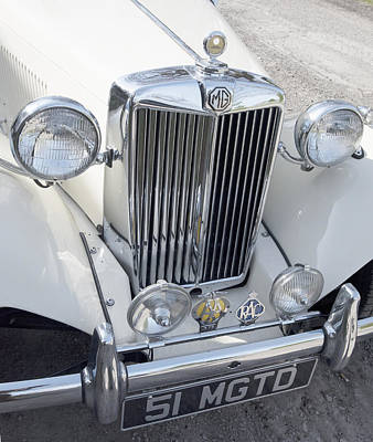 Photograph - Classic Mg by Paul Ross