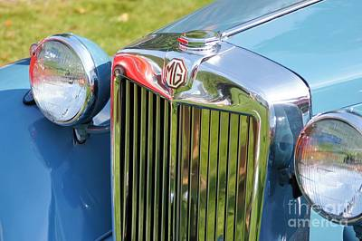 Photograph - Classic Mg Td by Neil Zimmerman