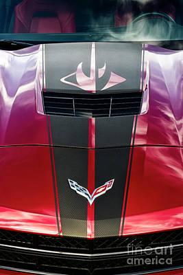 Photograph - Classic Muscle - Corvette Stingray by Brad Allen Fine Art