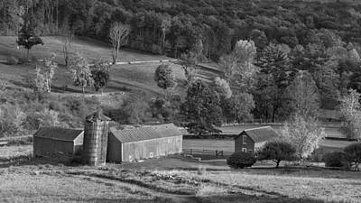 Country Photograph - Classic New England Bw by Bill Wakeley