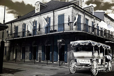 Photograph - Classic New Orleans Infrared by John Rizzuto