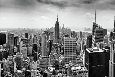 Black And White Photograph - Classic New York  by Az Jackson