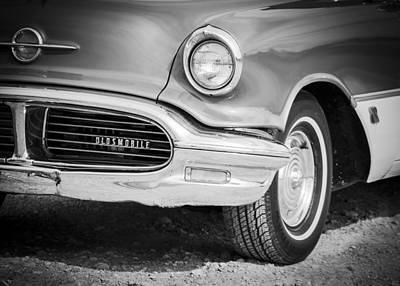 Smooth Ride Photograph - Classic Oldsmobile  by Debra Forand