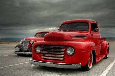 Classic Chevy Truck Photograph - Classic by Patrick English
