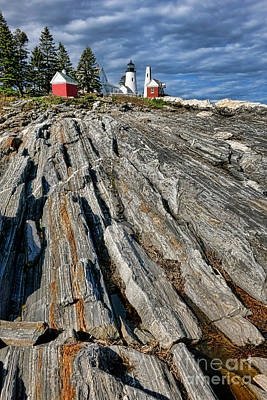 Keepers House Photograph - Classic Pemaquid by Olivier Le Queinec