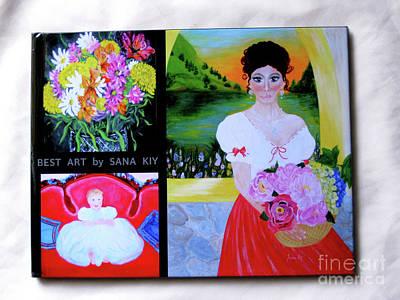 Painting - Classic Photo Book. Best Art By Sana Kiy by Oksana Semenchenko