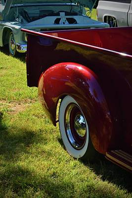 Photograph - Classic Pickup Fender by Dean Ferreira