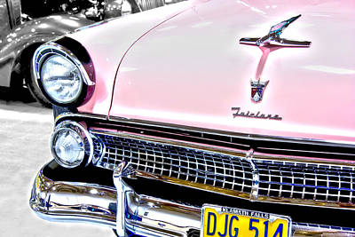 Photograph - Classic Pink Fairlane by Tyra OBryant