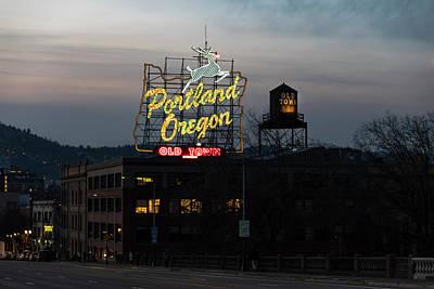 Photograph - Classic Portland by Steven Clark
