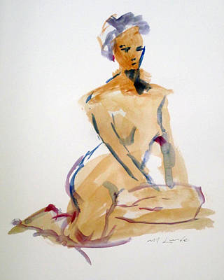 Painting - Classic Pose  by Mark Lunde