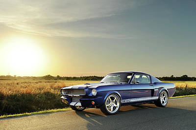 Photograph - Classic Recreations Shelby Gt350cr by Drew Phillips