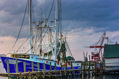 Photograph - Classic Shrimp Boat by Barry Jones